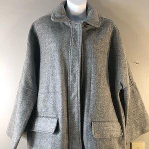 Mango Wool Blend Casual Coat NWT